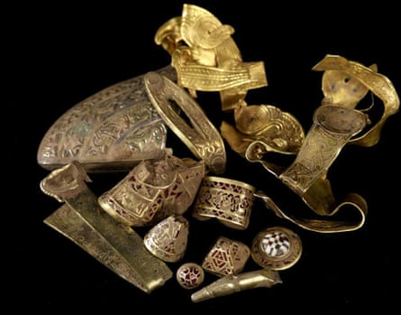 A small fraction of the Staffordshire hoard