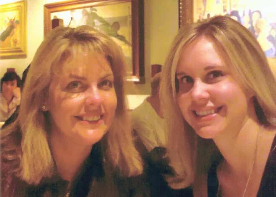 Karen Langhart with Erika
