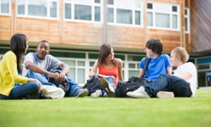 Home students can benefit from making friends with international students.