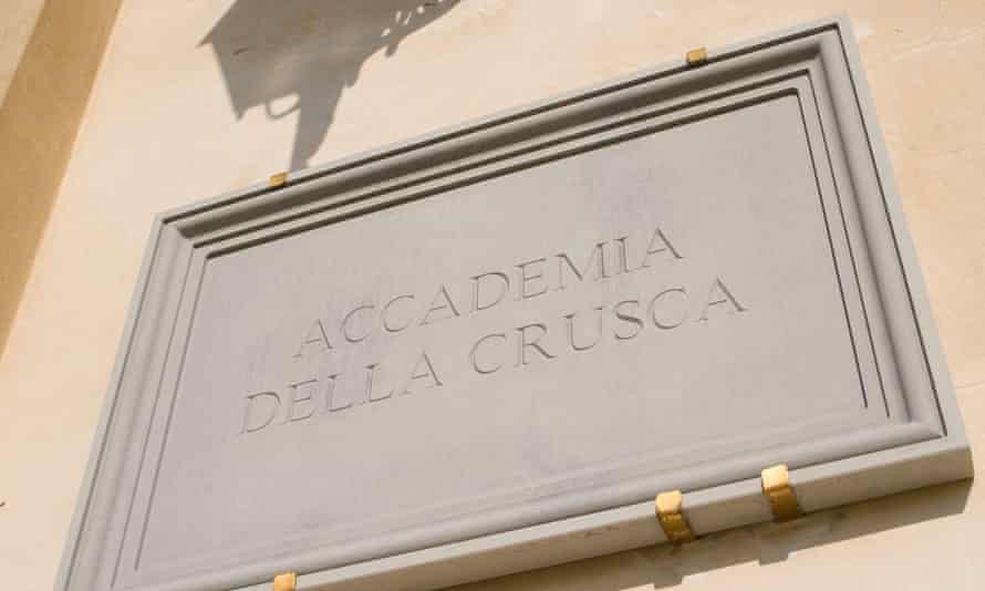 Accademia della Crusca, Florence