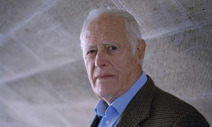 James Salter in 2008. His first novel, The Hunters, about the Korean war was turned into a 1958 film starring Robert Mitchum and Robert Wagner. Photograph: Julien Chatelin/Rex Features