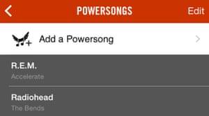 nike power songs