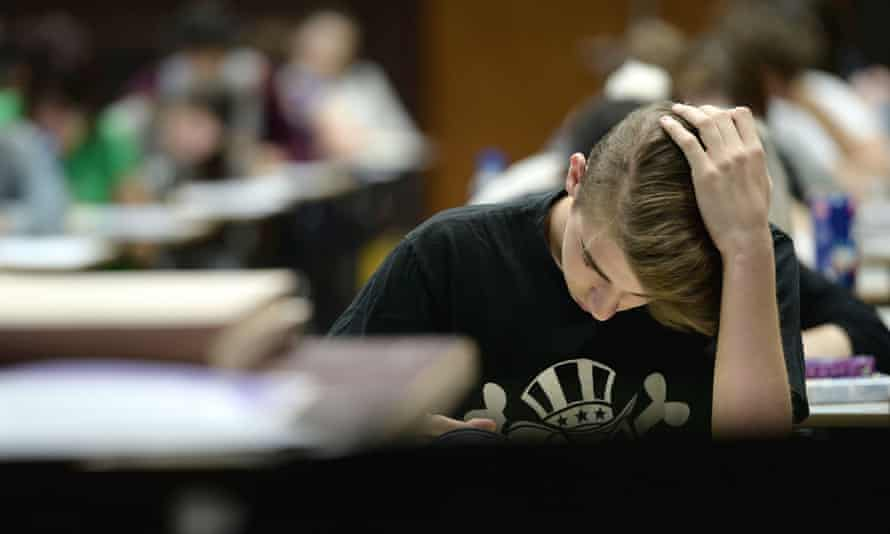 A total of 684,734 students across France will be sitting their written baccalaureate exams  across France.