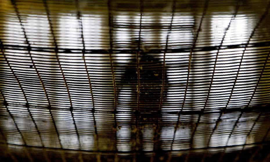 A prisoner at Pentonville prison