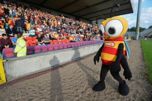Kingsley replaced the slightly less intimidating Jaggy Macbee for Partick Thistle