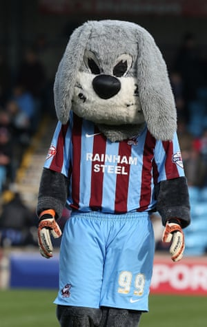 Scunthorpe United mascot Scunny Bunny survived an online petition by Irons fans who wanted him replaced by the 'Iron Lion'