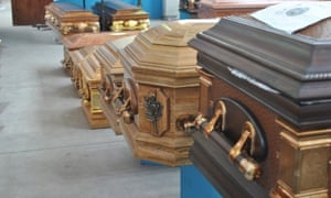 In just four hours one recent Friday evening, 196 coffins left Cape Town for the Other Side.