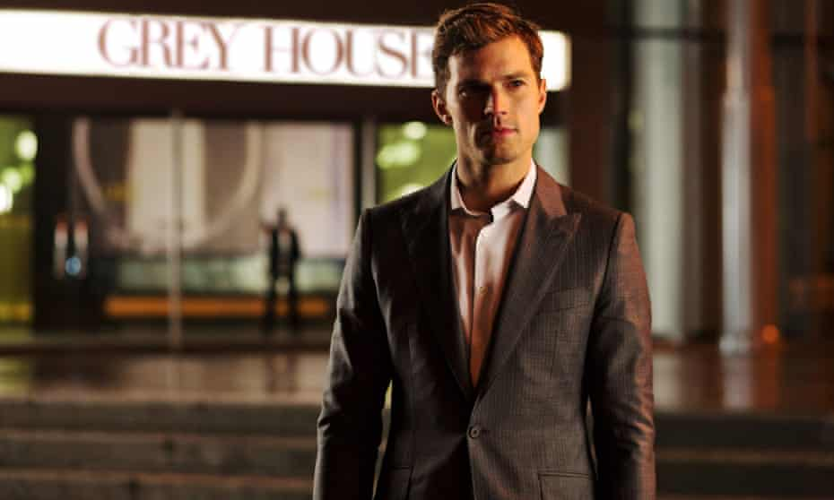 Jamie Dornan in the film version of Fifty Shades of Grey.