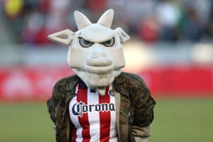With a mascot as frightening as ChivaFighter, it's a wonder the MLS had the kahunas to cease operations of Chivas USA