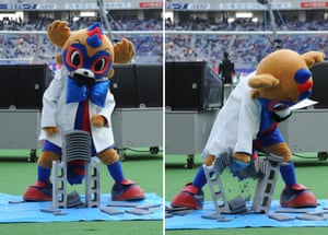 If you go and watch FC Tokyo, you'd be foolish to take the mickey out Tokyo Dorompa's ridiculous bow tie