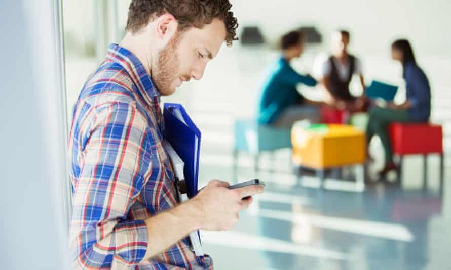 Checking mobile