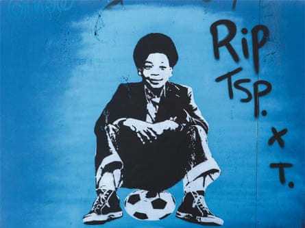 street art tribute to former grange hill actor terry sue-patt