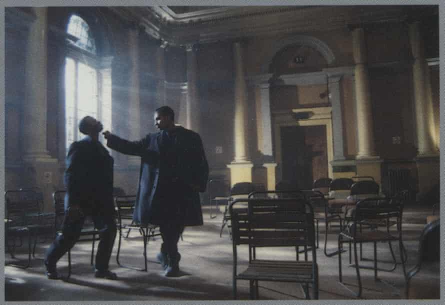A still from Asif Kapadia's film Waiting Room, 1997.