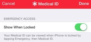 apple medical health screengrab