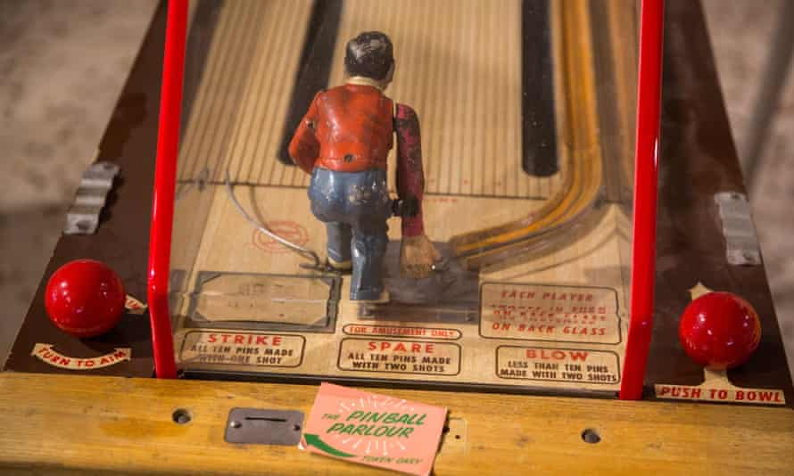 The careful restoration of old arcade games has been part of Dreamland's redevelopment.