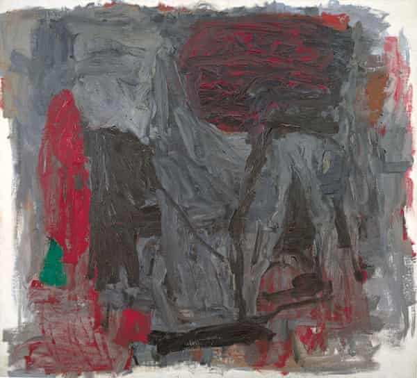 'Even at their most abstract, his paintings have an urgency' … Traveler III (1959-1960) by Philip Guston.