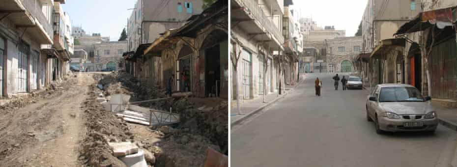 Using traditional materials and methods, the HRC has transformed parts of the Old City.