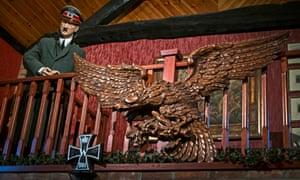 A Hitler mannequin