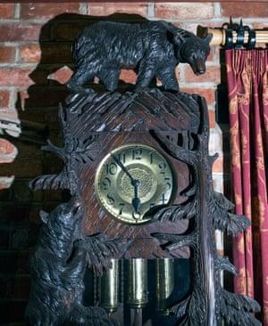 Josef Mengele's grandfather clock.