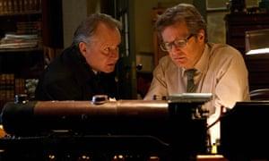 Colin Firth and Stellan Skarsgård in The Railway Man.