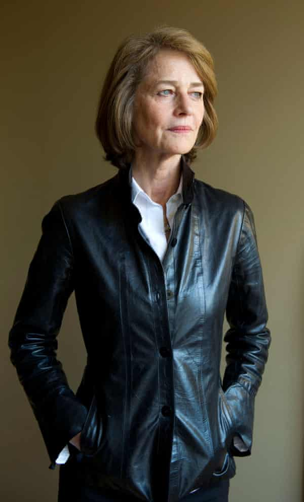 Charlotte Rampling, who narrates the play.