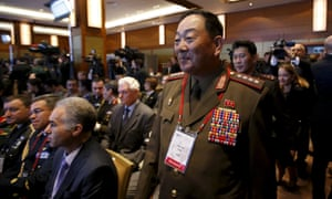 Senior North Korean military officer Hyon Yong Chol attends the 4th Moscow conference on international Security in Moscow in April
