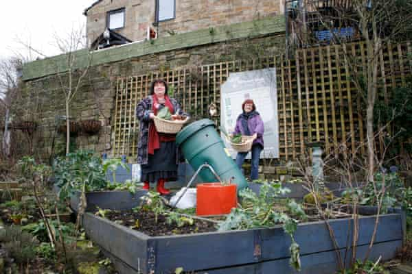 'Incredible Edible' have instigated community garden plots within urban settings.