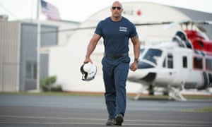Rock on a roll ... Dwayne Johnson hopes to continue his box office success with Rampage.
