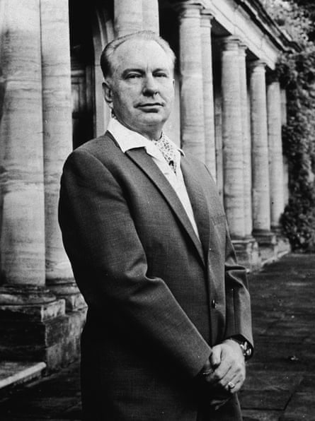 The science fiction writer and Scientology founder, L Ron Hubbard