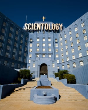 Church of Scientology building, Fountain Avenue, Hollywood.