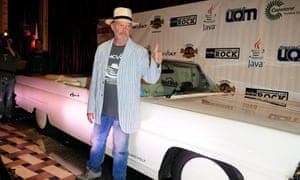 Neil Young with LincVolt mark one in 2010