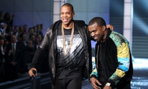 Collaborators … Jay Z and Kanye West.