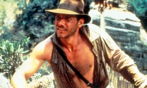Harrison Ford as Indiana Jones in 1984's The Temple of Doom