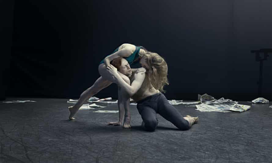 Edward Watson dancing with Wendy Whelan