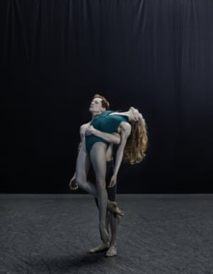 'My priority is to continue making art': Wendy Whelan, with Edward Watson at the Royal Opera House, London.