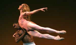 'Slowly, I found I had an interesting look – and some choreographers liked that': Wendy Whelan, with Craig Hall in 'Morphoses' at  Sadler's Wells.