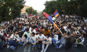 """The 'No to Plunder' group sparked the protests on 20 June in the centre of Yerevan, according to Armenian news site <a href=""""http://news.am/eng/news/272937.html"""">News.am</a>"""