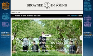 Drowned In Sound: 'We could even go guns blazing with clickbait to try to triple our audience'