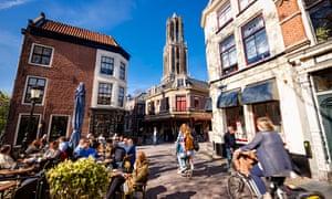 city square in Utrecht