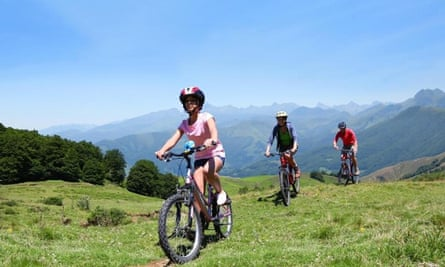 On a high: cycling in Spain's Picos de Europa National Park.