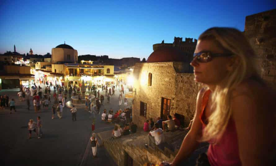 The old town of Rhodes.