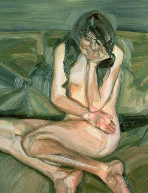 Naked Child Laughing, Lucian Freud's portrait of his daughter Annie from 1963.