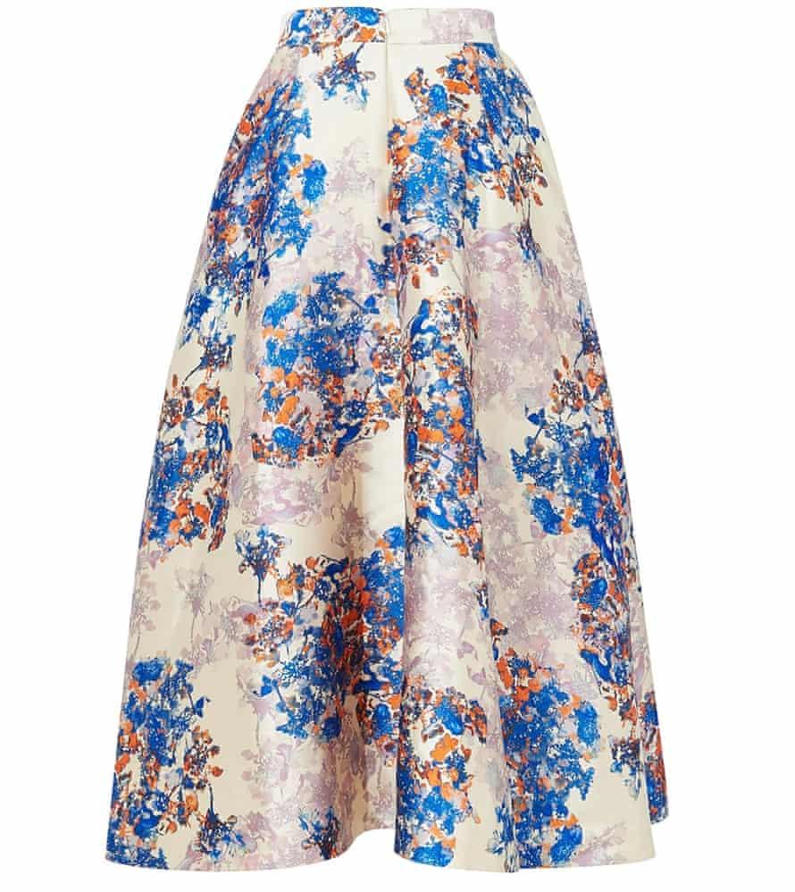 Long full skirt, £250, lkbennett.com.