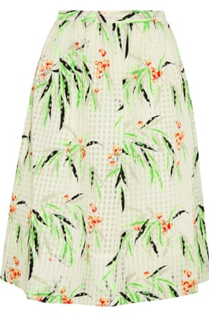 Organza skirt, £260, by Elizabeth and James, from net-a-porter.com.