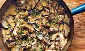 White haricot beans with clams Food of Spain, Claudia Roden
