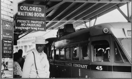 Photo showing the Jim Crow signs of racial segregation, Durham, North Carolina, May 1940.