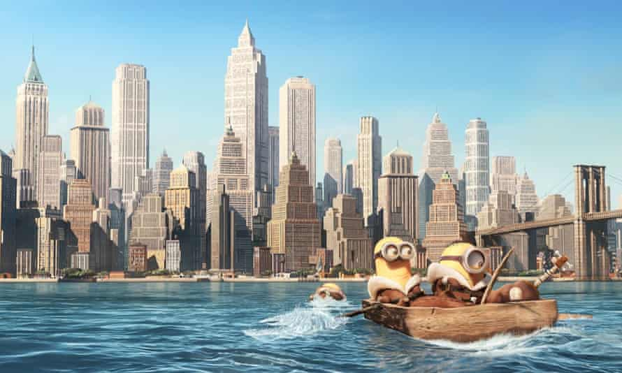 Coming to America ... Minions