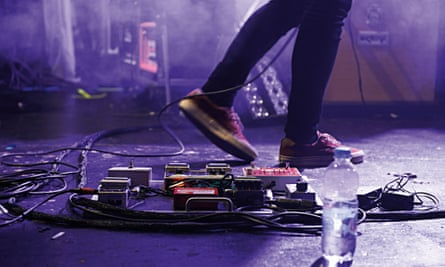 Stage struck: for many musicians, settling down after the high of performance can be difficult.