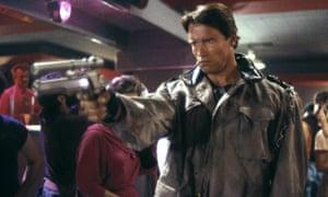 He's back … Arnold Schwarzenegger in The Terminator.