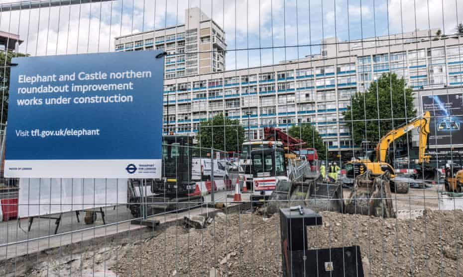 Elephant and Castle is feeling the full force of London's 'regenerative steamroller'.